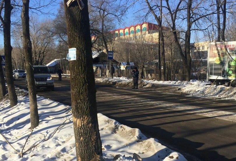 МОЛНИЯ: на переходе через улицу Волочаевскую автомобиль из Хабаровска вновь сбил пешехода