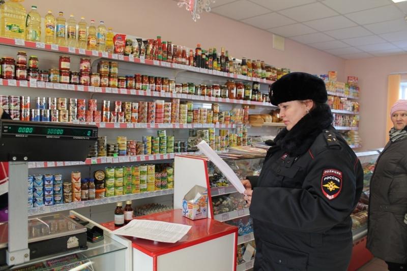 Рейд по «фанфурикам»: полицейские автономии проверяют торговые точки, торгующие алкоголем