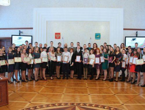 Лучших студентов наградили в Татьянин день в правительстве ЕАО