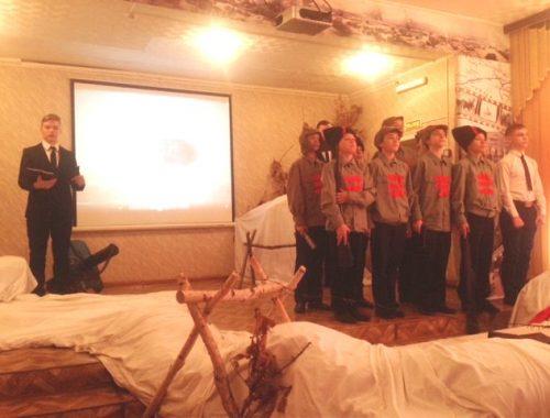 Квест-игра «Боев Волочаевских слава» прошла в школе села Волочаевка