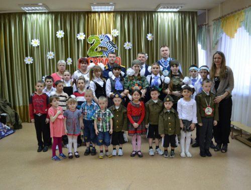 Следователи навестили подшефных детей накануне Дня защитника Отечества