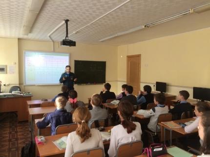 Сотрудники МЧС предупредили школьников области об опасности весеннего льда