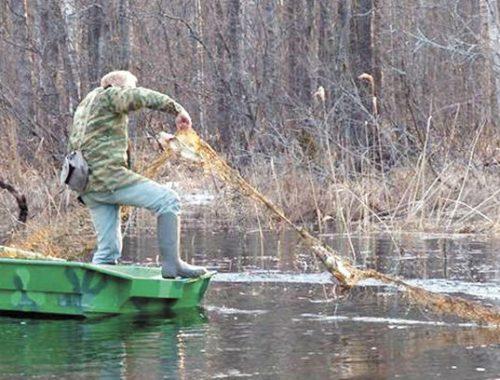 Условный срок получили рыбаки из-за отсутствия разрешения на ловлю