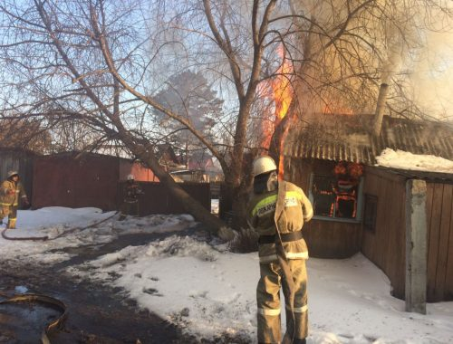 Очередной поджог частного домовладения зафиксирован в Ленинском районе