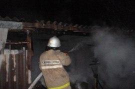 Огнеборцы ликвидировали возгорание жилого дома в селе Дежнёво