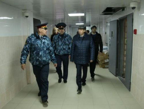 Александр Левинталь побывал в СИЗО. На экскурсии