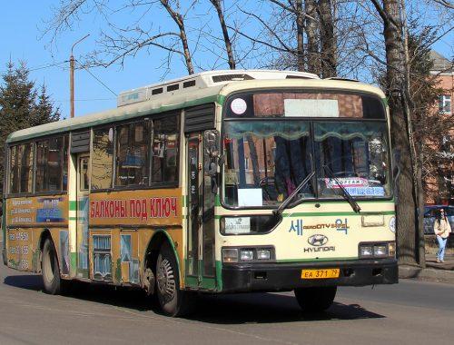 Регулярное движение дачных автобусов в Биробиджане начнётся 22 апреля