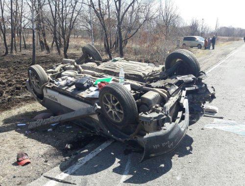 Один человек погиб, четверо получили ранения в ДТП на выходных