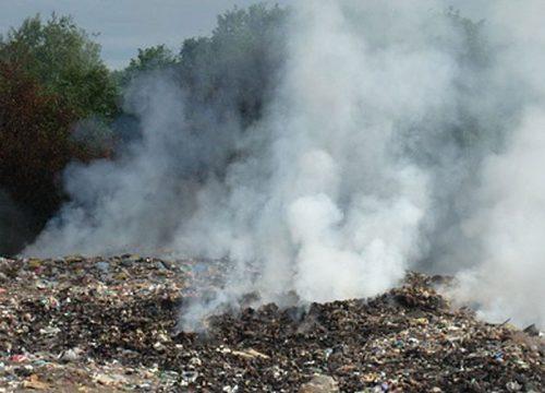 Прокуратура проводит проверку по факту возгорания городской свалки в Биробиджане