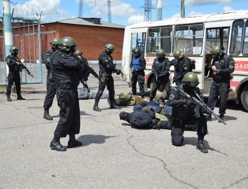 Масштабные антитеррористические учения провели силовики ЕАО