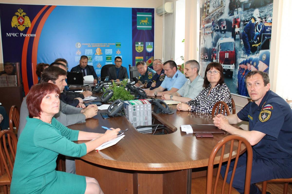 Представители ОНФ в ЕАО обсудили вопросы взаимодействия с МЧС