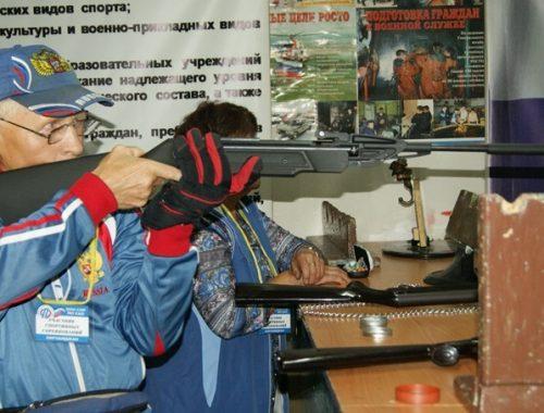 В Биробиджане завершились соревнования среди пенсионеров