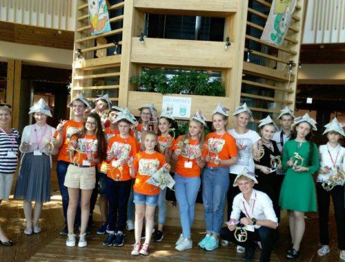 Биробиджанские школьники приняли участие в Международном детском форуме в Японии