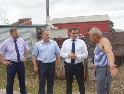 Прокуратурой Биробиджанского района проведена проверка по обращению жителей дома в селе Птичник