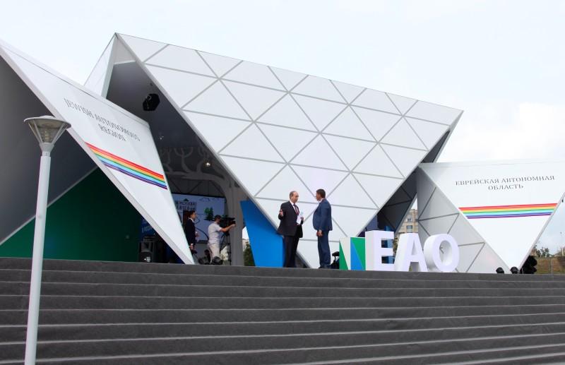 «Улица Дальнего Востока» открылась на Восточном экономическом форуме