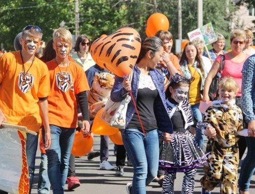 Полосатым шествием встретят День тигра в Биробиджане