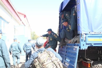 Почти месяц биробиджанские спасатели ликвидировали последствия паводка в Приморье