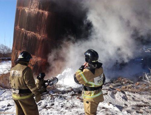 Пойманы поджигатели строительного мусора в пригороде Биробиджана