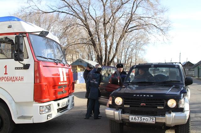 В Биробиджане прошёл рейд: «Уступи дорогу пожарному автомобилю»