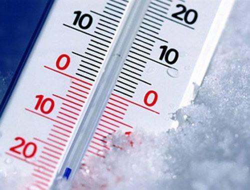 МЧС: в ЕАО прогнозируется резкое понижение температуры воздуха