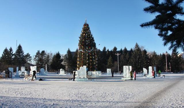 В ЕАО пройдёт первый Международный конкурс ледовых скульптур