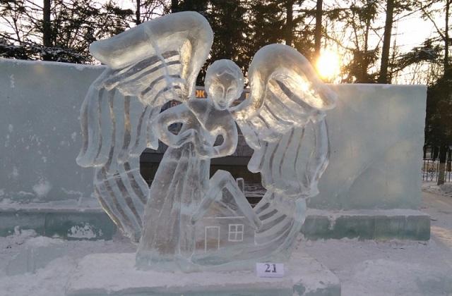 Подведены итоги первого международного конкурса ледовых скульптур