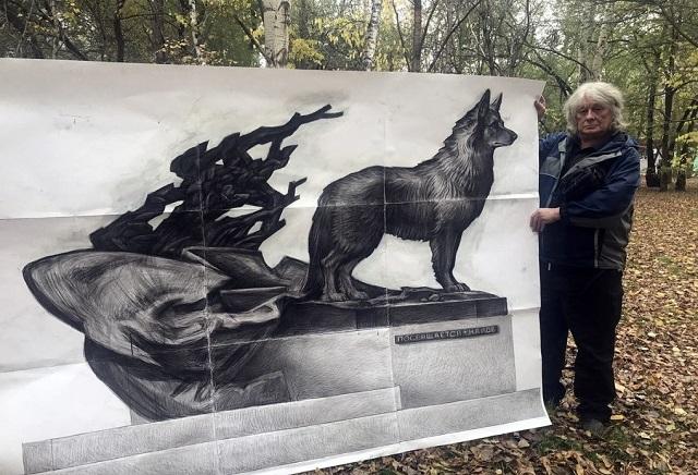 В Хабаровском крае установят памятник собаке, 12 лет ждавшей своего хозяина