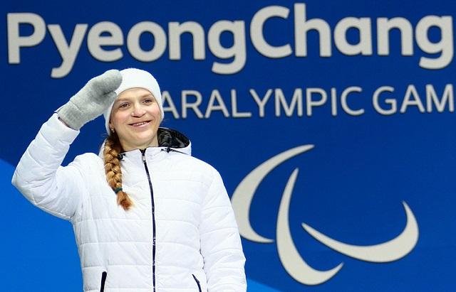 Наша землячка Екатерина Румянцева завоевала три золотых и две серебряных медали на Паралимпиаде-2018