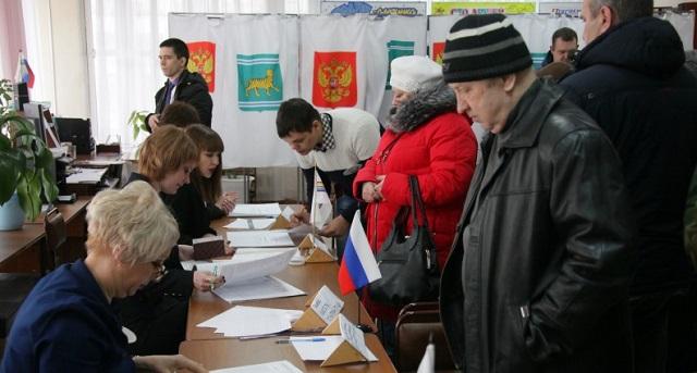 Почти половина избирателей ЕАО проголосовали к середине дня
