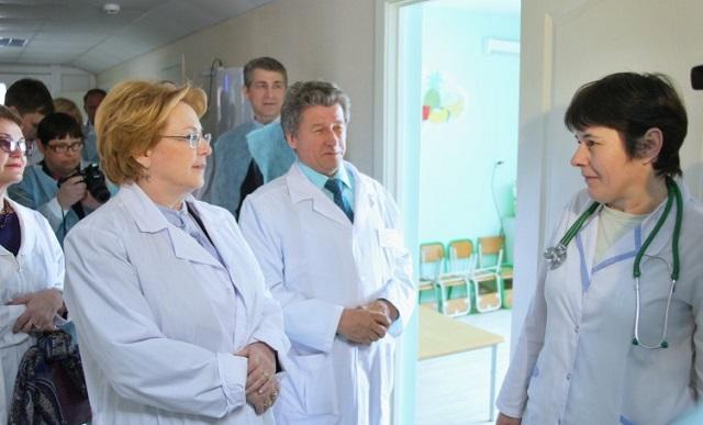 Вероника Скворцова оценила уровень здравоохранения в ЕАО
