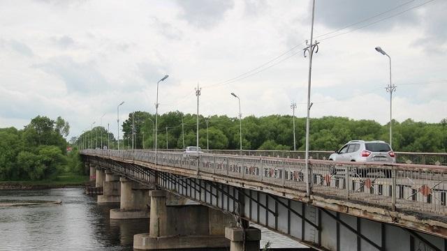 Старый мост через Биру вновь закроют на ремонт