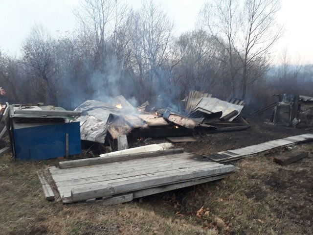 Пожарные отстояли от огня 70 домов в дачном товариществе