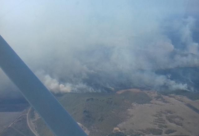 Пожар чуть было не уничтожил населенный пункт в ЕАО