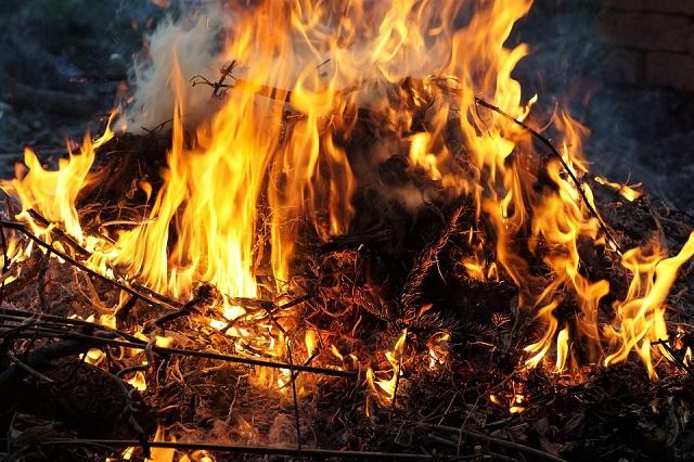 Развела костер и ушла из дома: сельчанка сожгла свои и соседские постройки