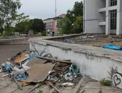 Пенсионерка добивается ликвидации свалки в центре Биробиджана