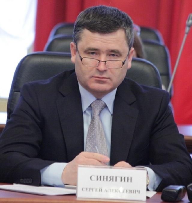 Депутату Заксобрания области Сергею Синягину предъявлено обвинение по уголовному делу
