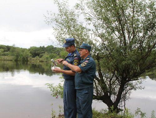 Информация о гидрологической обстановке в области