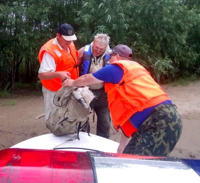 Сплав пенсионера по реке чуть не обернулся трагедией