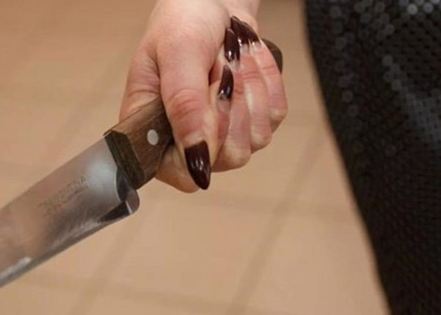 64-летняя местная жительница зарезала сожителя дочери