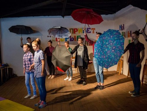 Театр-студия «Добрые люди» продолжает набор на новый театральный сезон