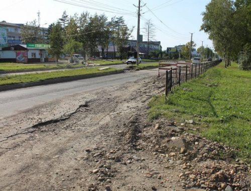 Восстановить асфальт после ремонта теплотрассы требуют биробиджанцы