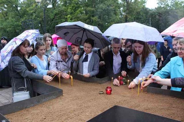 В областном центре почтили память жертв терроризма