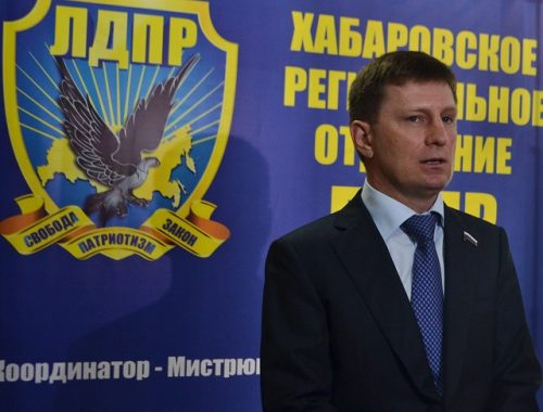 Кандидат от ЛДПР не отказывается от участия в выборах главы Хабаровского края