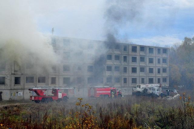 Взрыв бытового газа ликвидировали в Биробиджане в ходе учений (ВИДЕО)