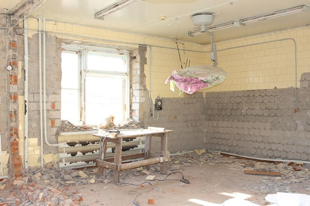 В реанимации областной больницы начался ремонт
