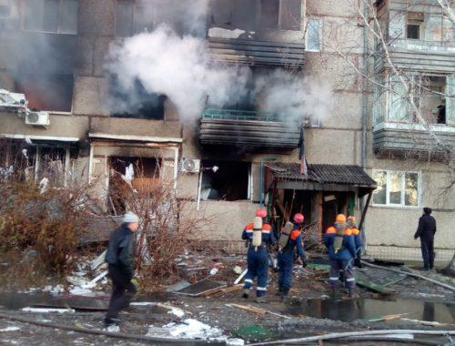 Четыре человека пострадали из-за взрыва бытового газа в пятиэтажке