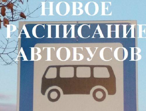 Расписание движения автобусов по новой маршрутной сети в Биробиджане
