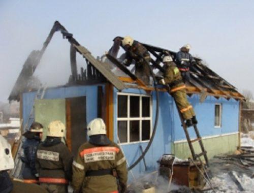 Огонь унес жизнь биробиджанца