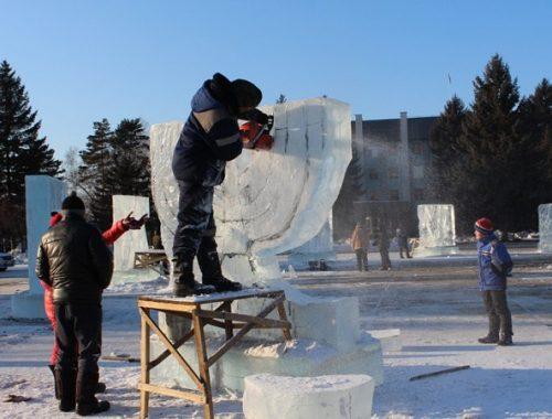 Ледовые скульптуры на суд жюри представят 20 команд