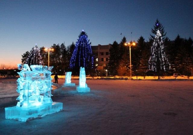 Пять новогодних елей украсят Биробиджан